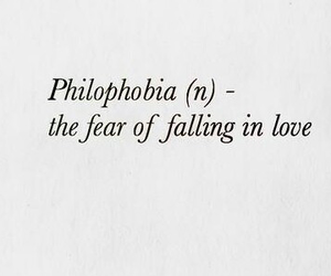 fear, love, and falling image