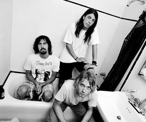 90s, grunge, and kurt cobain image