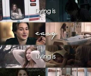 true story, the fault in our stars, and if i stay image