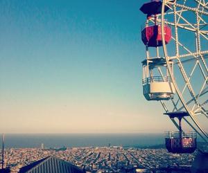 Barcelona, beach, and city image
