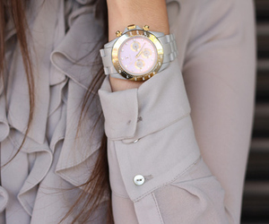 fashion, watch, and blouse image