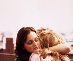 gossip girl, hug, and serena image