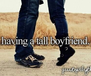 boyfriend, love, and tall image