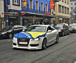 audi, Bosnia, and car image