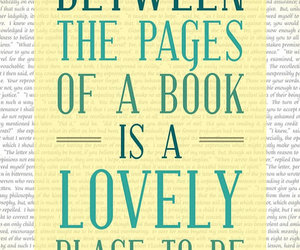 book, page, and lovely image