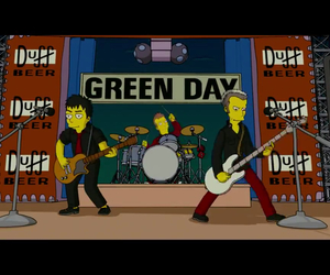 green day and the simpsons image