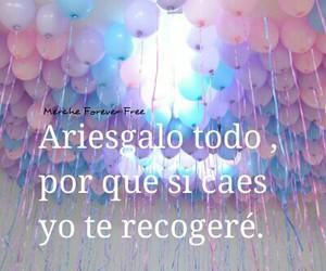 amor, globos, and te amo image
