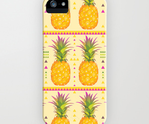 tropical, iphone cases, and pineapples image