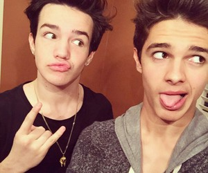 aaron carpenter, brent rivera, and magcon image