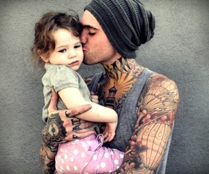tattoo, cute, and baby image