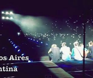 one direction, argentina, and buenos aires image