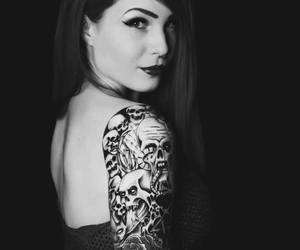 tattoo, red, and red hair image