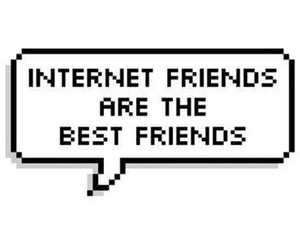 friends, internet, and best friends image