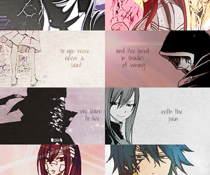 fairy tail, jerza, and jellal image