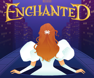 disney and enchanted image