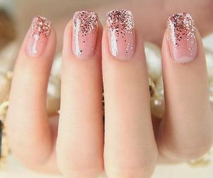 beauty, fingers, and glam image
