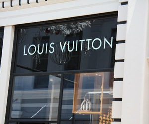 Louis Vuitton, fashion, and store image