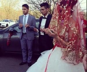 bride, muslim, and Turkish image