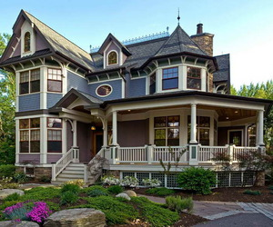 house, victorian, and home image