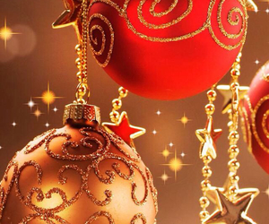 advent, bauble, and baubles image