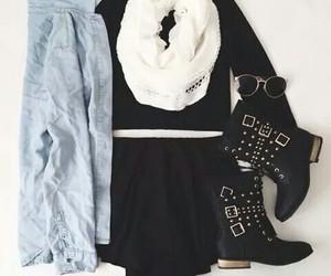 black, moda, and pretty image