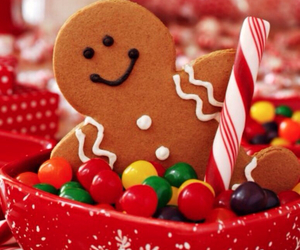 sweets, christmas spirt, and xmas biscuit image