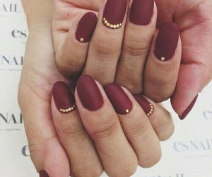 almond, jewels, and manicure image