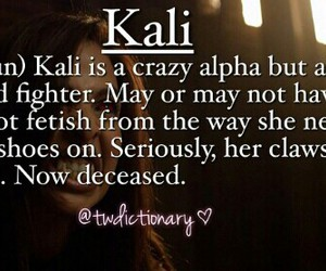 kali and teen wolf image