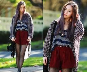 fashion, lookbook, and girl image