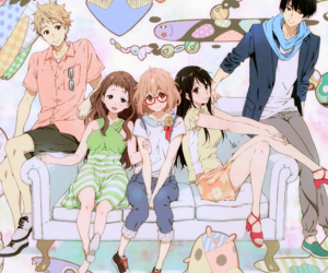 kyoukai no kanata and anime image