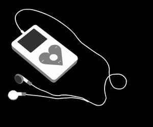 music, ipod, and apple image