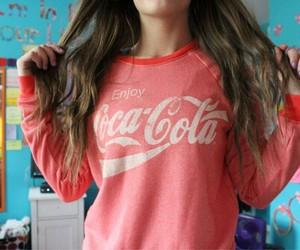 girl, coke, and tumblr image