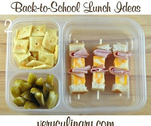 lunch, school, and back to school image