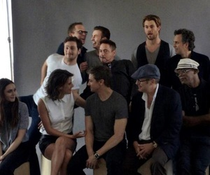 cast, Marvel, and the avengers image