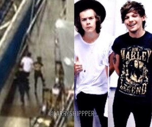 angel, larry, and louis tomlinson image