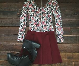 boots, outfit, and aeropostale image