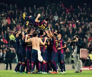 messi, Barca, and team image