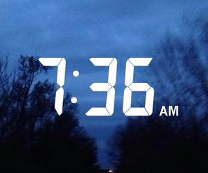 blue, dark, and morning image