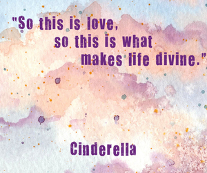 cinderella, disney, and love image