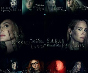 coven, jessica lange, and evan peters image