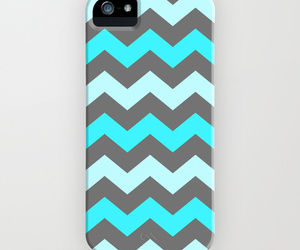 blue, iphone 5s, and chevron image