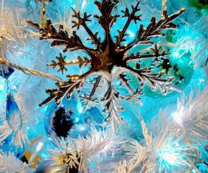 christmas, festive, and decorations image
