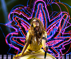 gold, M.I.A., and neon image
