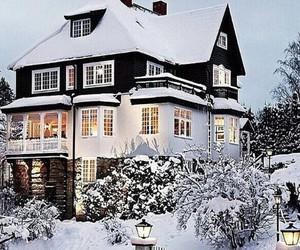 interiorim.com, house, and snow image
