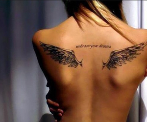 angel, wings, and hope image