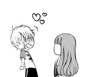 love, manga, and anime image