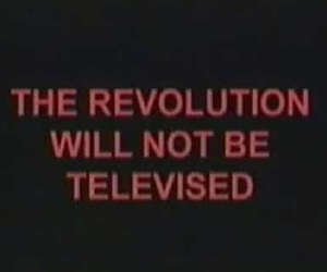 revolution, grunge, and televised image