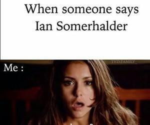 ian somerhalder, the vampire diaries, and tvd image