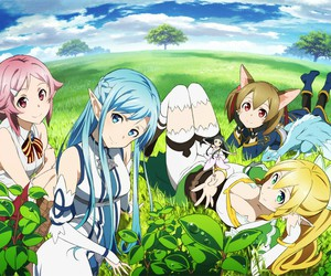 anime, sao, and sao2 image