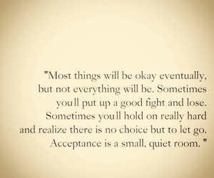 quotes, acceptance, and letting go image